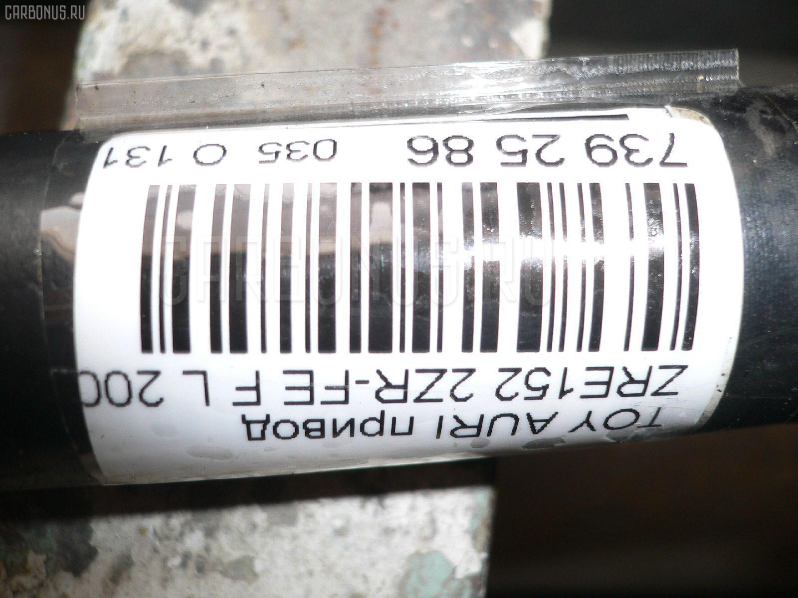 Привод TOYOTA AURIS ZRE152 2ZR-FE Фото 2
