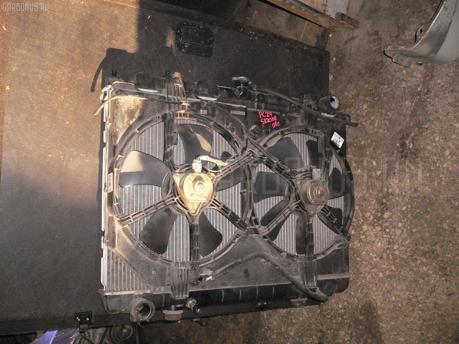 Радиатор ДВС NISSAN SERENA PC24 SR20DE Фото 1