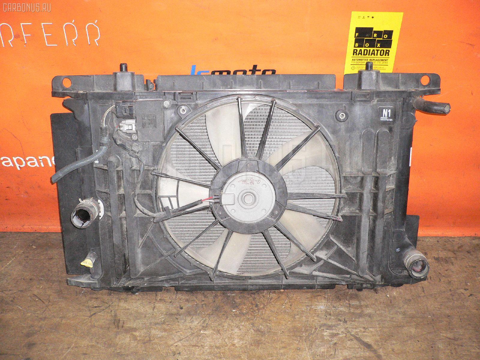 Радиатор ДВС TOYOTA AURIS ZRE152 2ZR-FE Фото 1