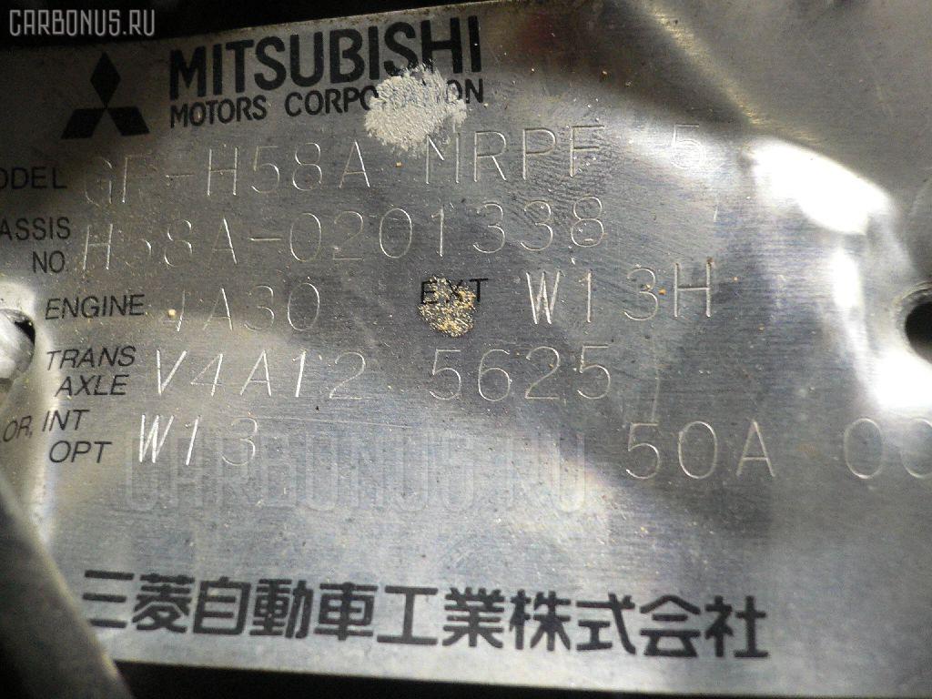 Двигатель MITSUBISHI PAJERO MINI H58A 4A30T Фото 11