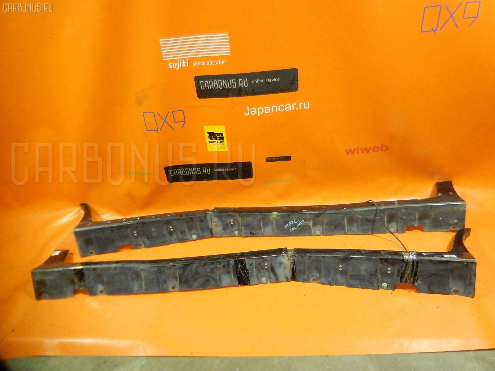 Порог кузова пластиковый ( обвес ) TOYOTA FUNCARGO NCP21. Фото 8