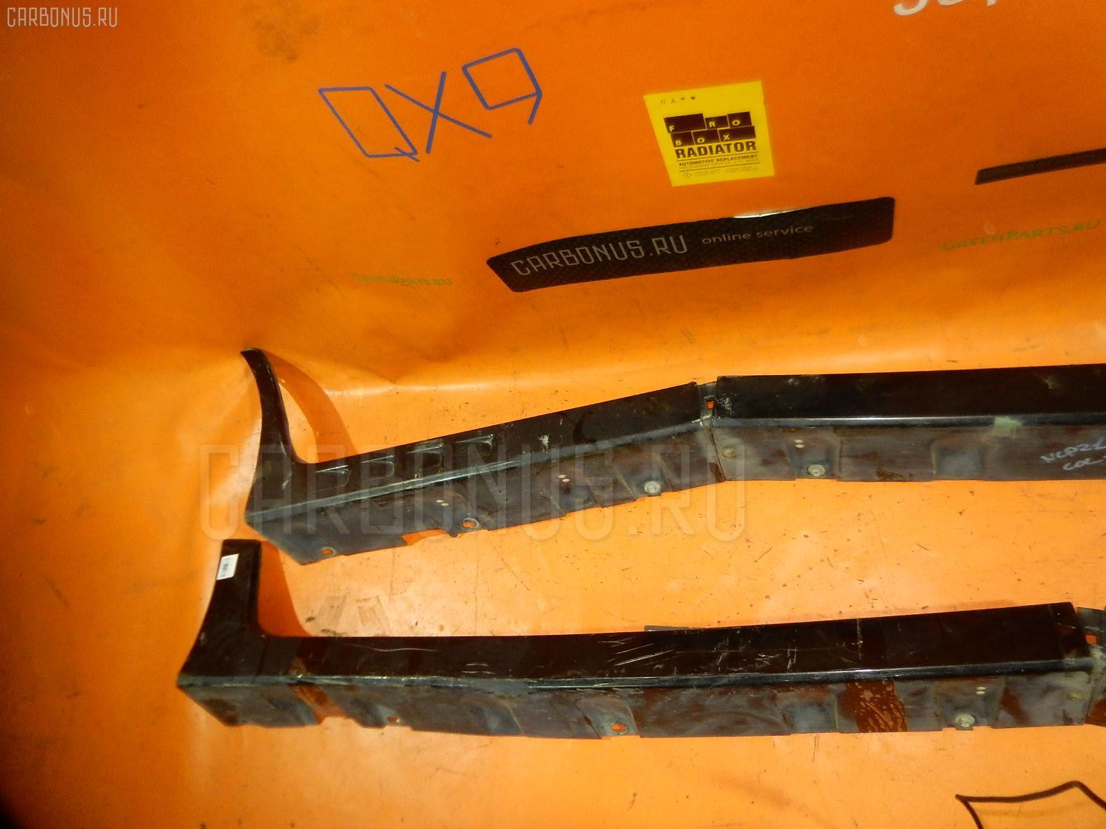 Порог кузова пластиковый ( обвес ) TOYOTA FUNCARGO NCP21. Фото 11