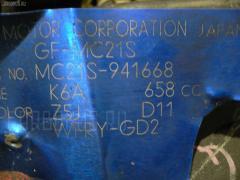 б/у Двигатель SUZUKI WAGON R MC21S K6A-T