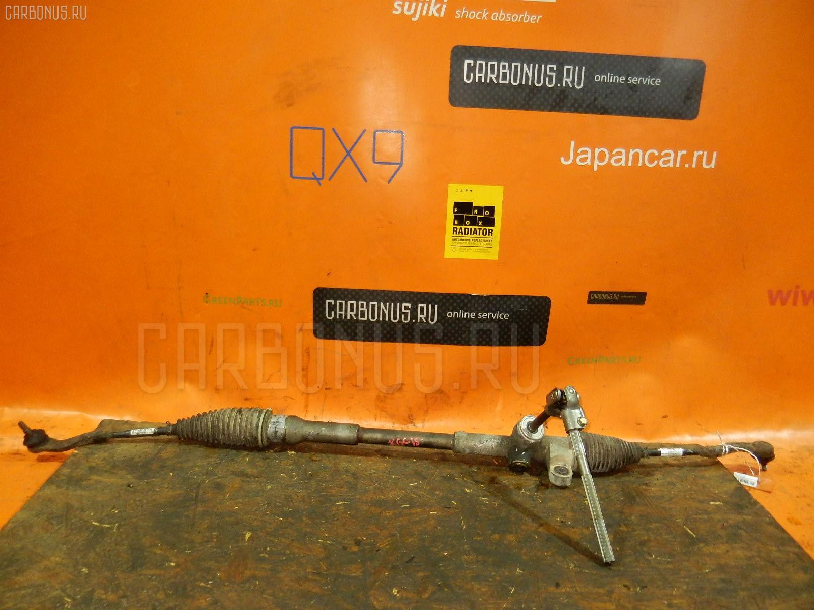Рулевая рейка TOYOTA PASSO KGC15 1KRFE. Фото 7