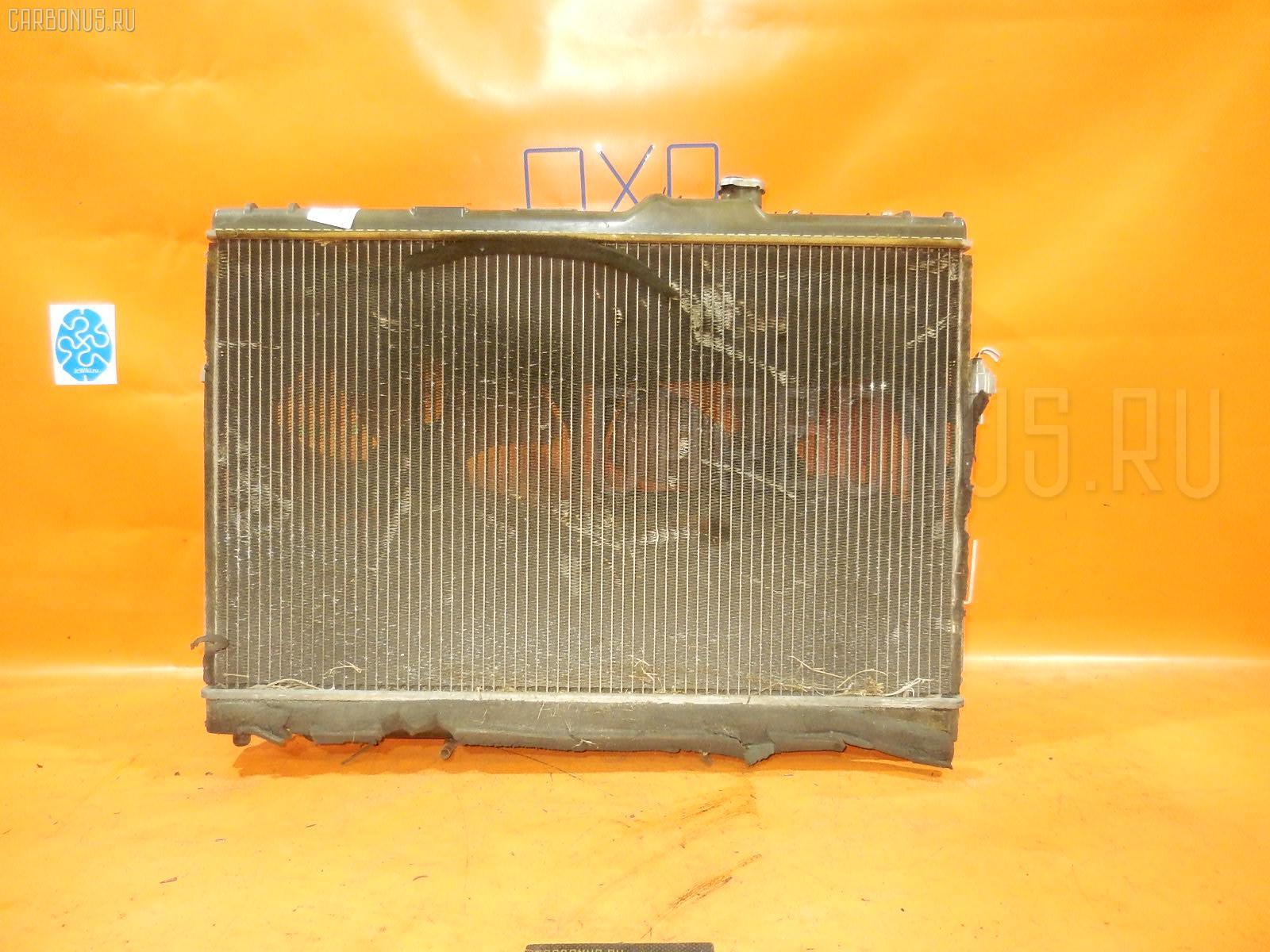 Радиатор ДВС TOYOTA CHASER SX100 4S-FE. Фото 5