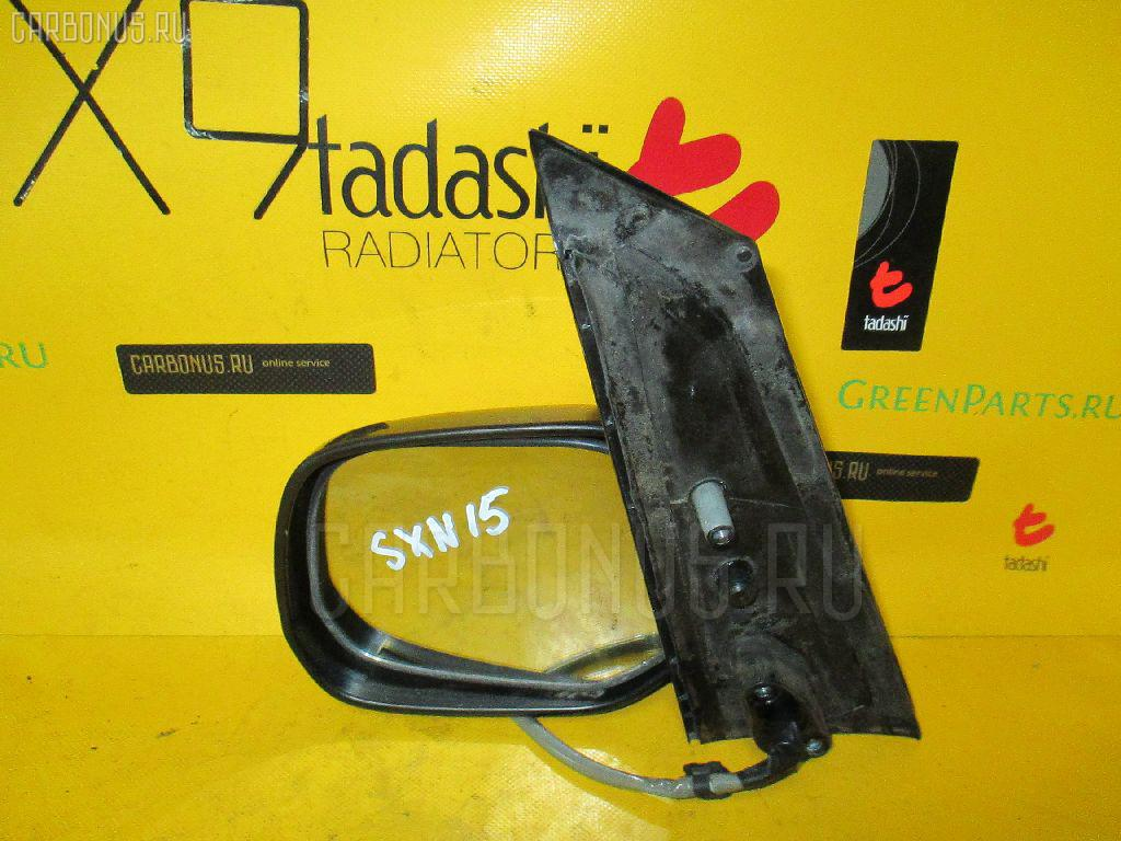 Зеркало двери боковой TOYOTA NADIA SXN15. Фото 4