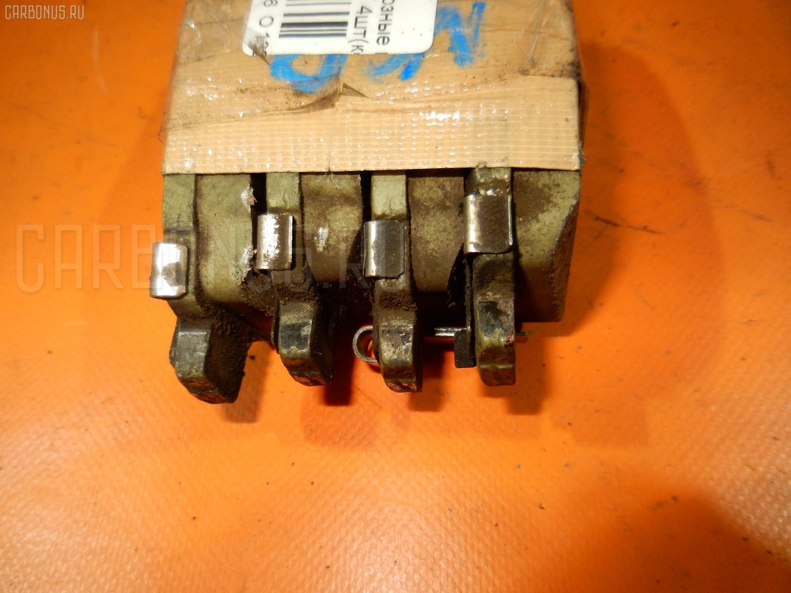 Тормозные колодки TOYOTA FUNCARGO NCP21 1NZ-FE. Фото 4