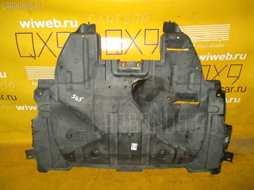 Защита двигателя SUBARU FORESTER SG5 EJ20. Фото 11