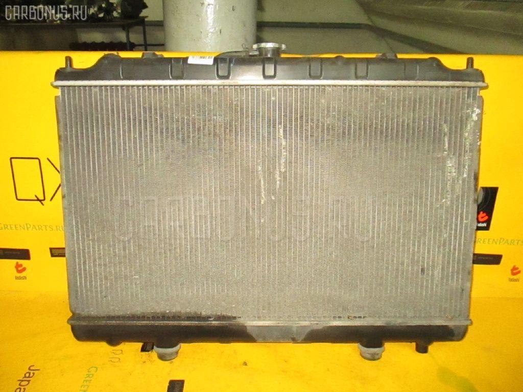 Радиатор ДВС NISSAN AVENIR PNW11 SR20DE. Фото 10