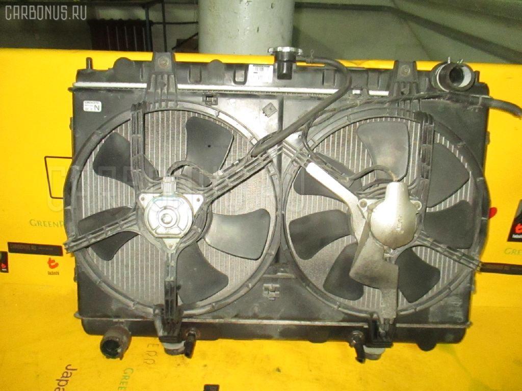 Радиатор ДВС NISSAN AVENIR PNW11 SR20DE. Фото 11