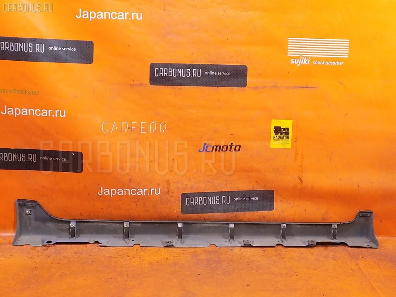 Порог кузова пластиковый ( обвес ) TOYOTA VITZ NCP13. Фото 2