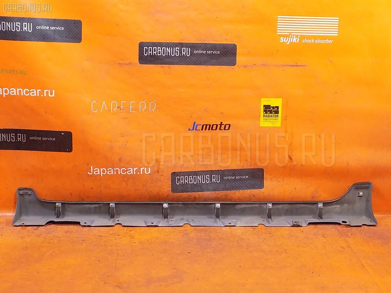 Порог кузова пластиковый ( обвес ) TOYOTA VITZ NCP13. Фото 4