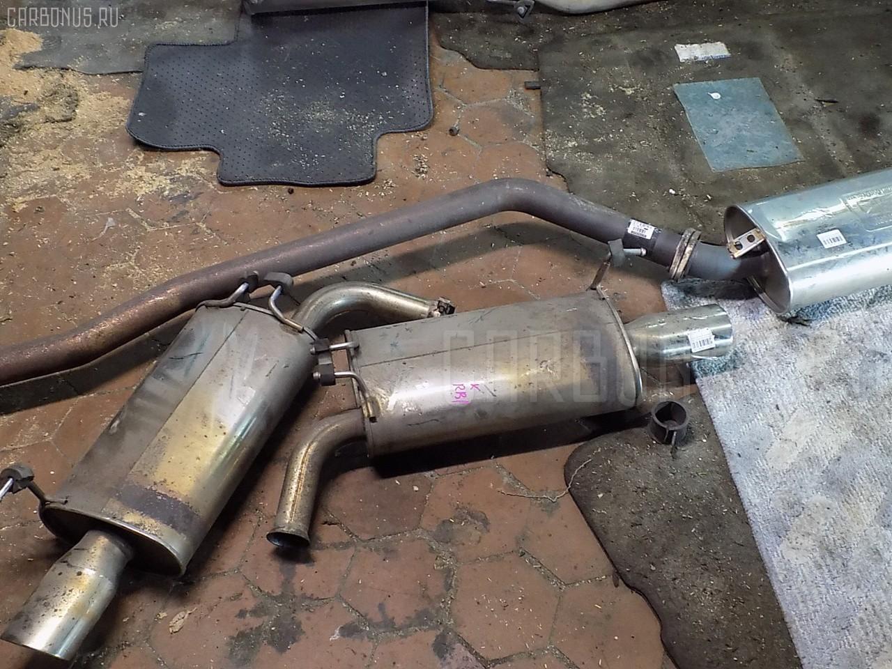 Глушитель HONDA ODYSSEY RB1 K24A. Фото 9