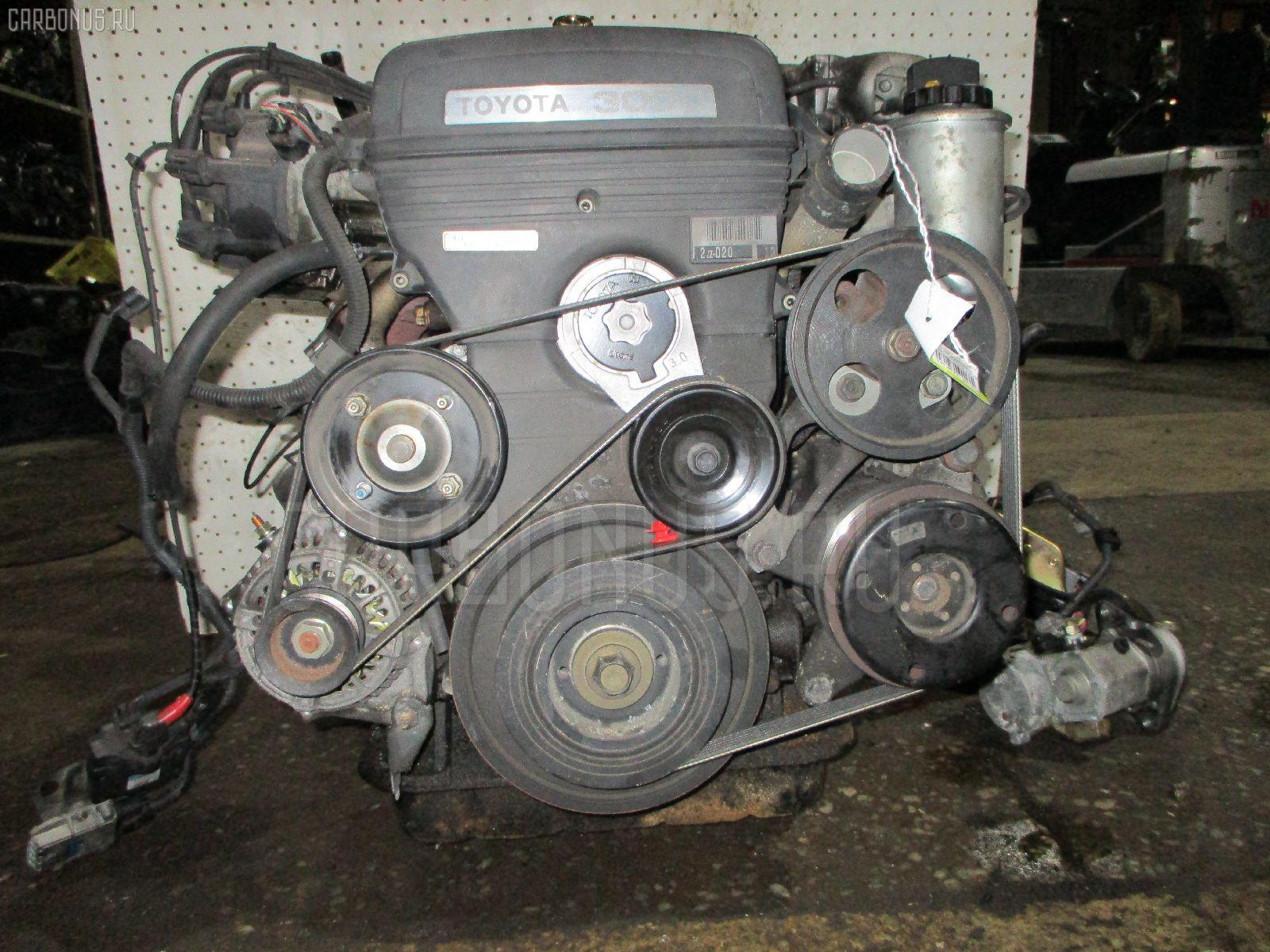 Двигатель TOYOTA CROWN MAJESTA JZS149 2JZ-GE. Фото 5