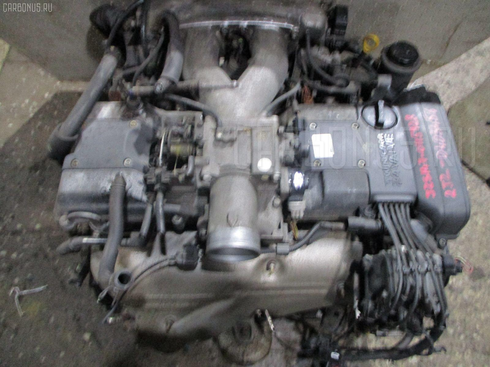 Двигатель TOYOTA CROWN MAJESTA JZS149 2JZ-GE. Фото 10