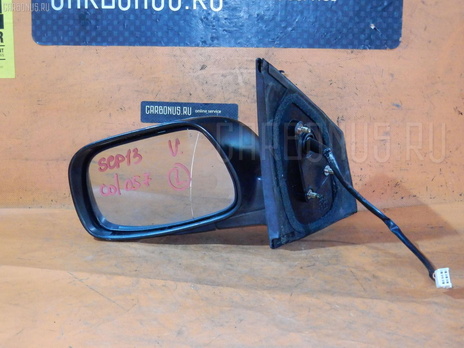 Зеркало двери боковой TOYOTA VITZ SCP13. Фото 11