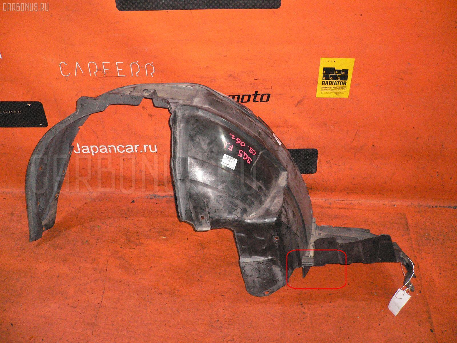 Подкрылок SUBARU FORESTER SG5 EJ205. Фото 6