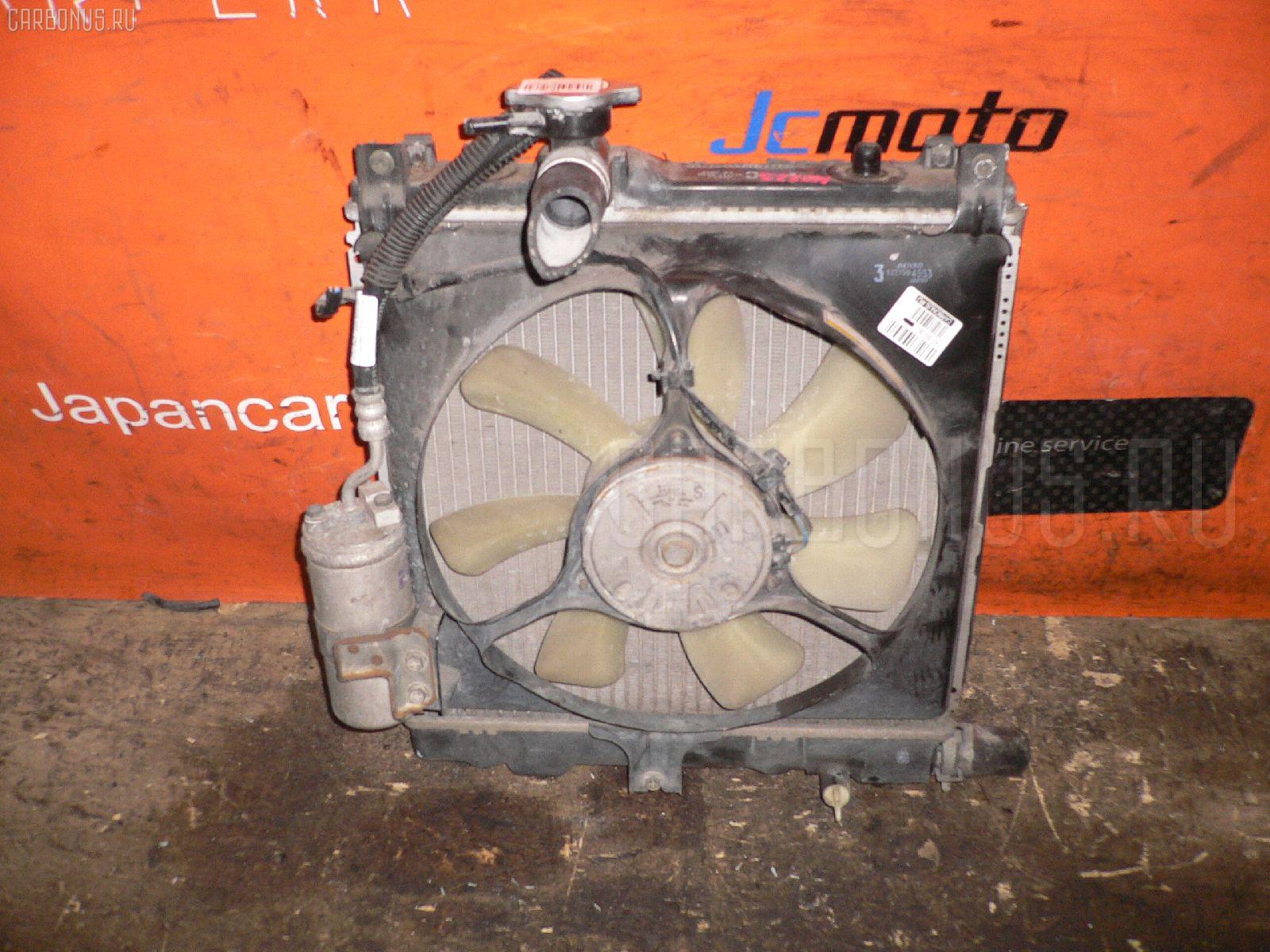 Радиатор ДВС SUZUKI WAGON R MC22S K6A. Фото 11