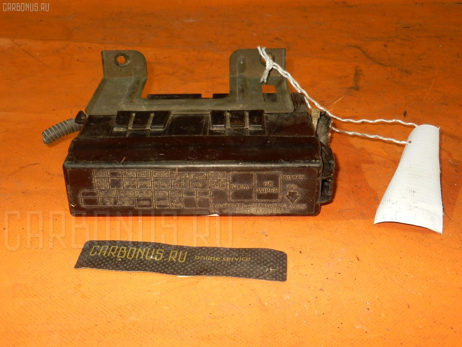 Блок предохранителей NISSAN CUBE BZ11 CR14DE. Фото 5