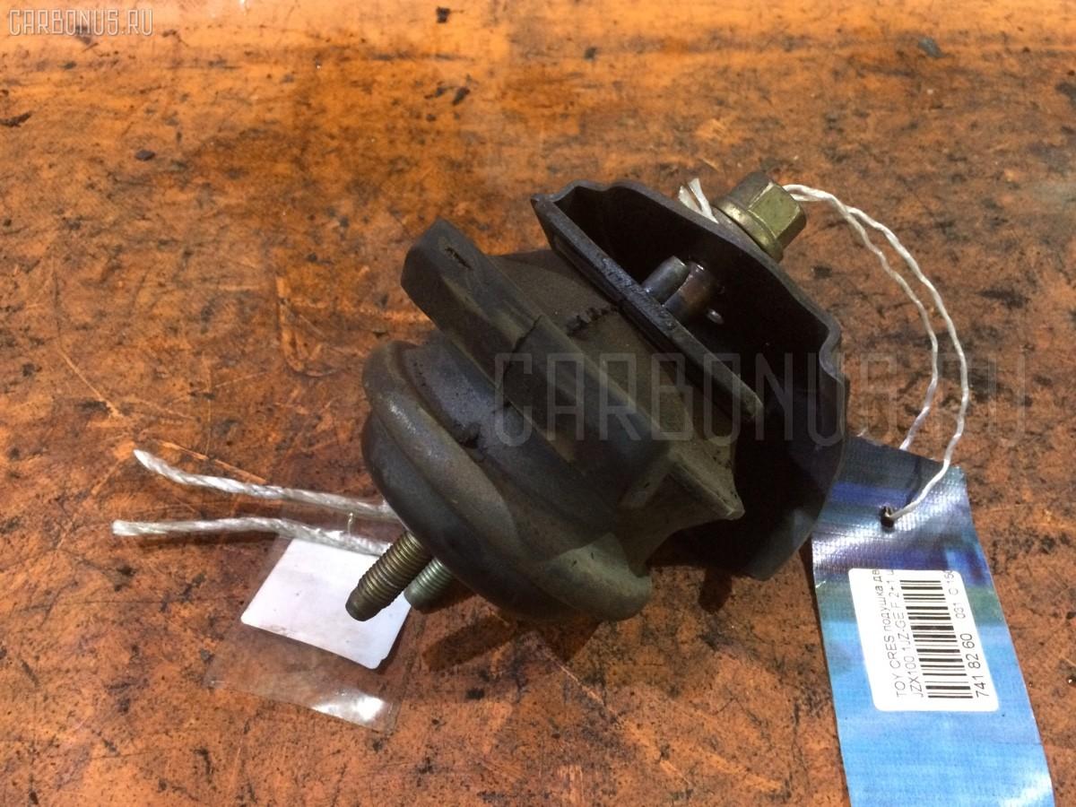 Подушка двигателя Toyota Cresta JZX100 1JZ-GE Фото 1