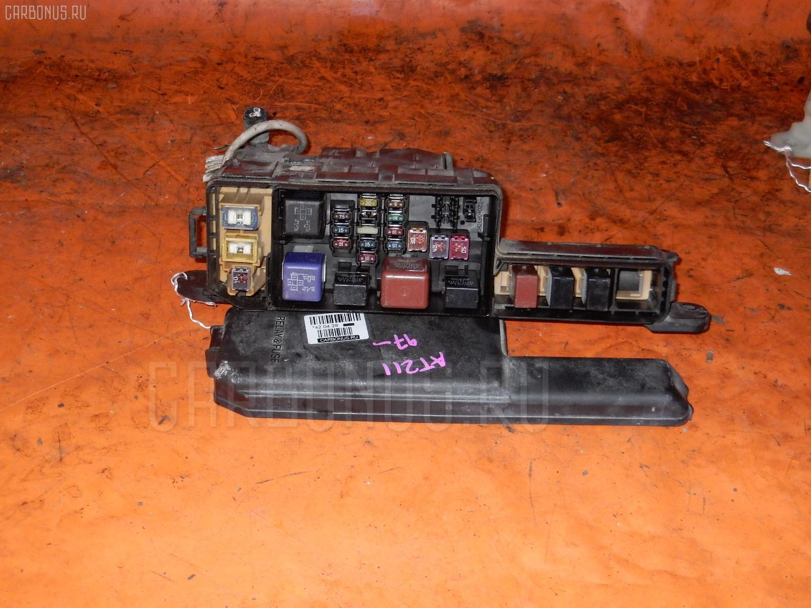 Блок предохранителей TOYOTA CALDINA AT211G 7A-FE. Фото 7