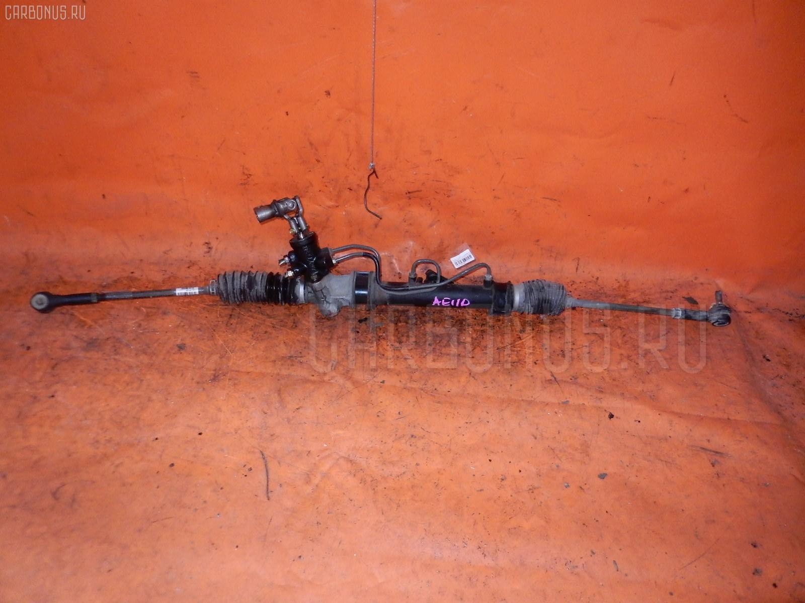 Рулевая рейка TOYOTA COROLLA AE110 5A-FE. Фото 7