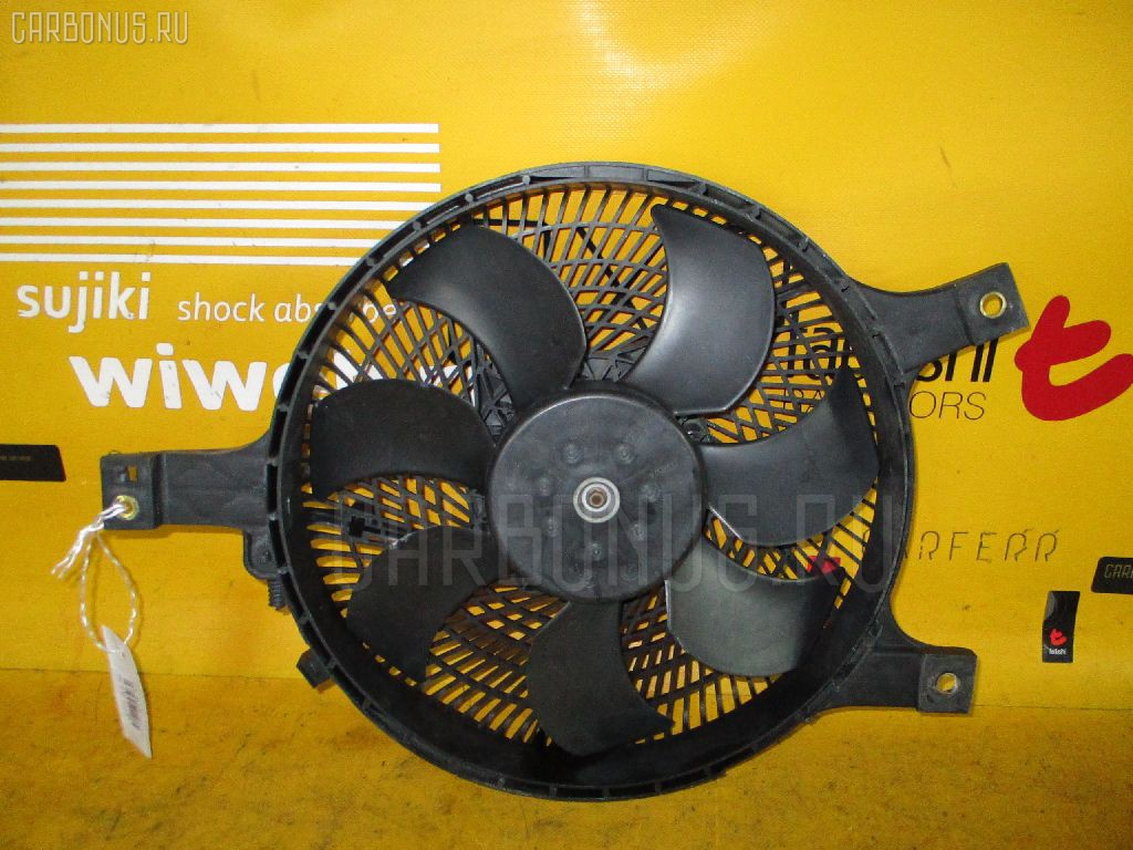 Вентилятор радиатора кондиционера NISSAN LAUREL GC35 RB25DE. Фото 4