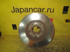 Тормозной диск на Nissan Gloria HY34 VQ30DD, Переднее расположение
