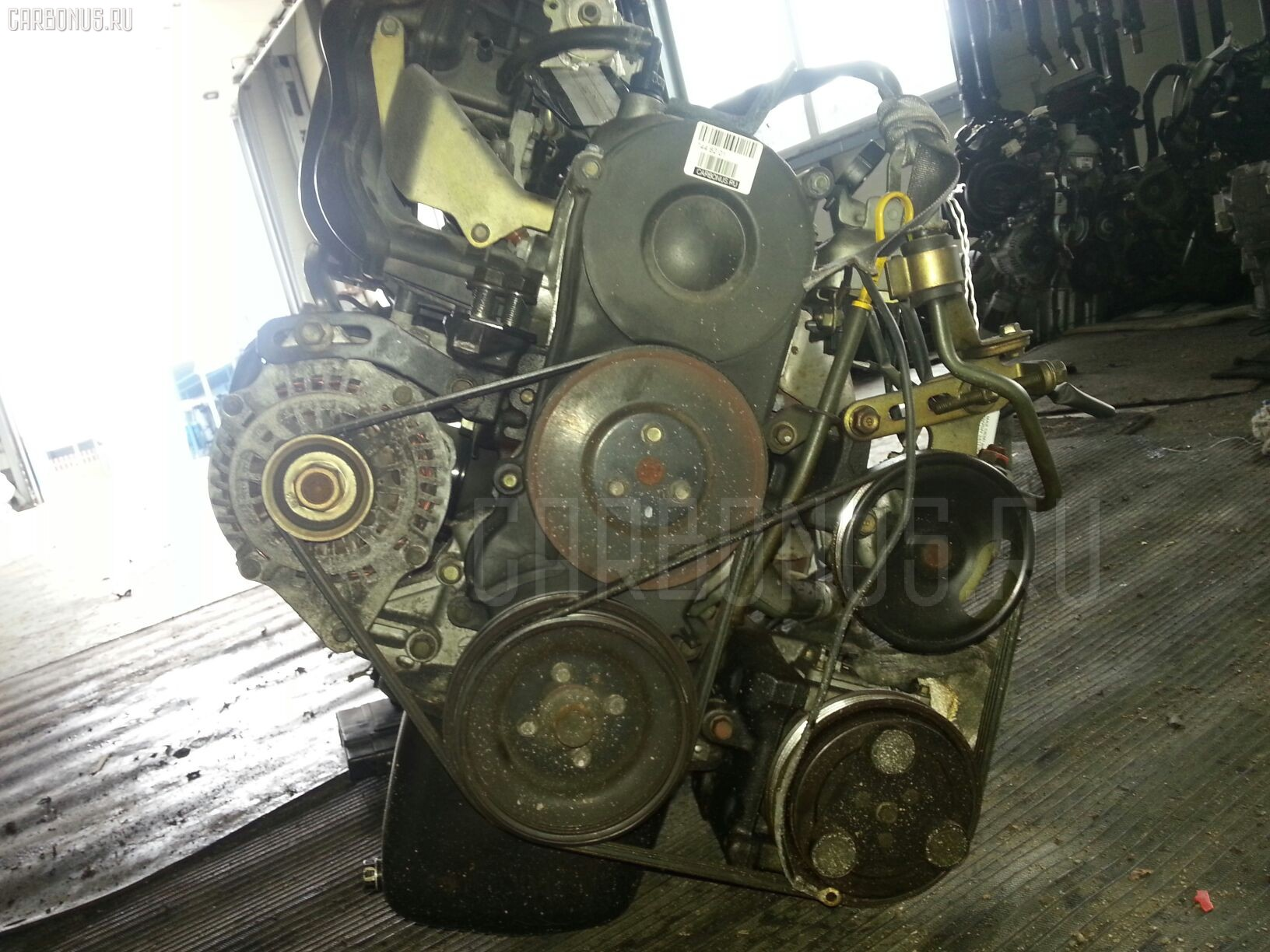 двигатель mazda b5