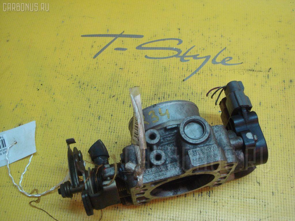 Дроссельная заслонка NISSAN SKYLINE HR34 RB20DE. Фото 5