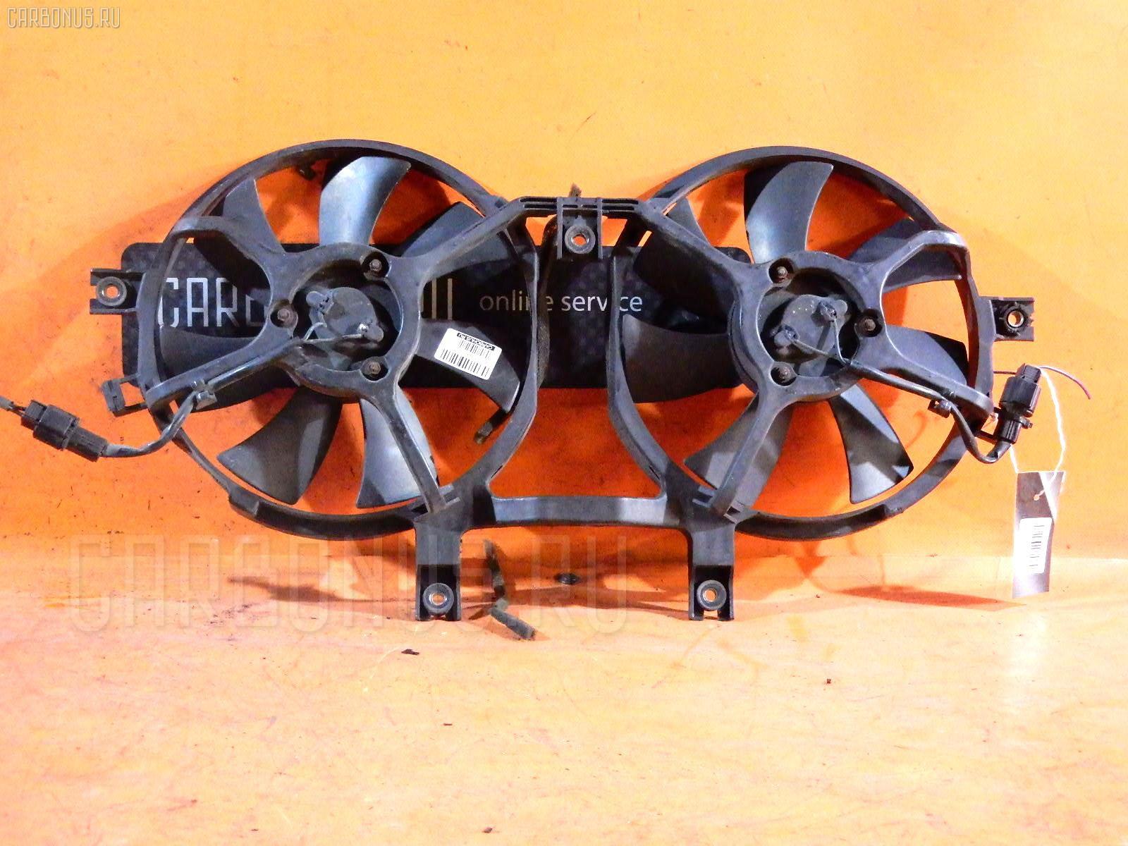Вентилятор радиатора кондиционера MITSUBISHI DELICA SPACE GEAR PE8W 4M40-T. Фото 3