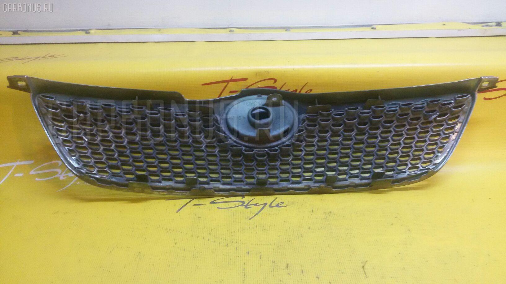 Решетка радиатора на короллу 120 своими руками
