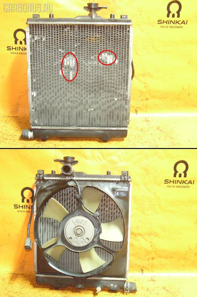 Радиатор ДВС SUZUKI WAGON R PLUS MA63S K10A. Фото 5