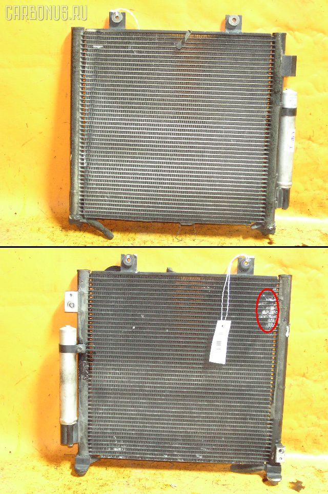 Радиатор кондиционера SUZUKI WAGON R PLUS MA63S K10A. Фото 4