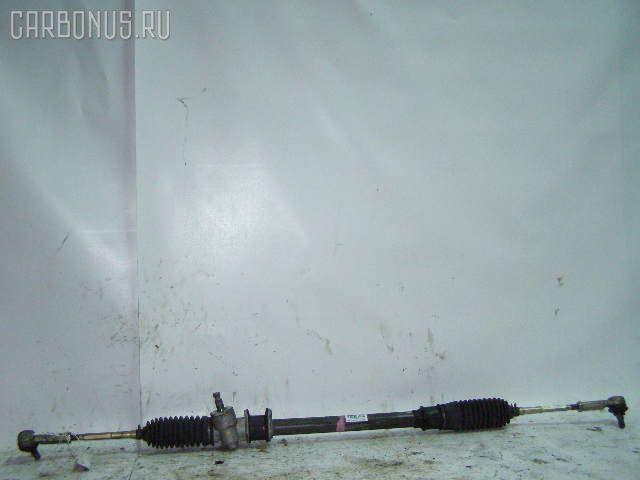 Рулевая рейка SUZUKI KEI HN21S K6A. Фото 4