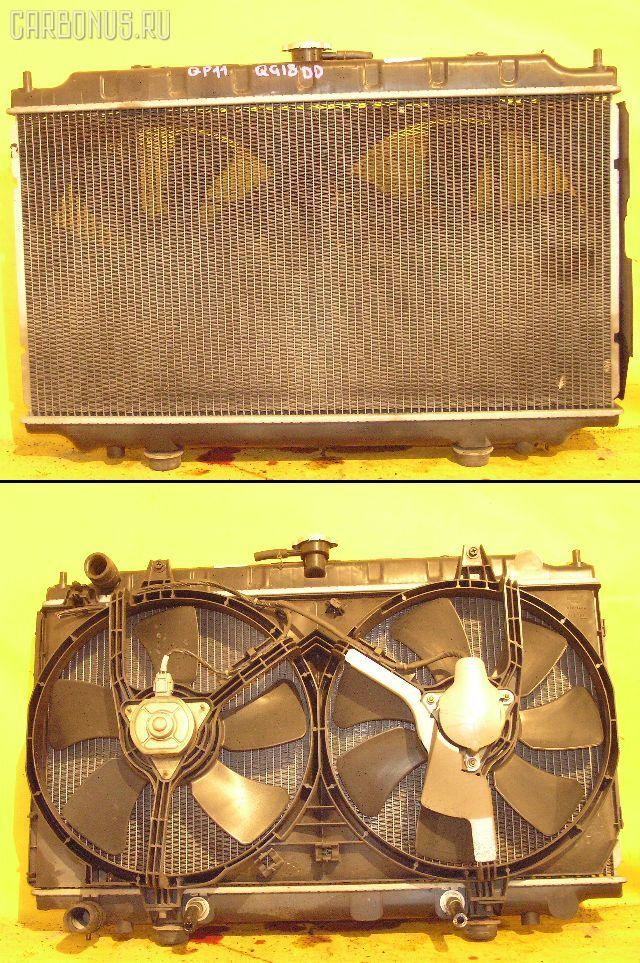 Радиатор ДВС NISSAN PRIMERA QP11 QG18DD. Фото 11