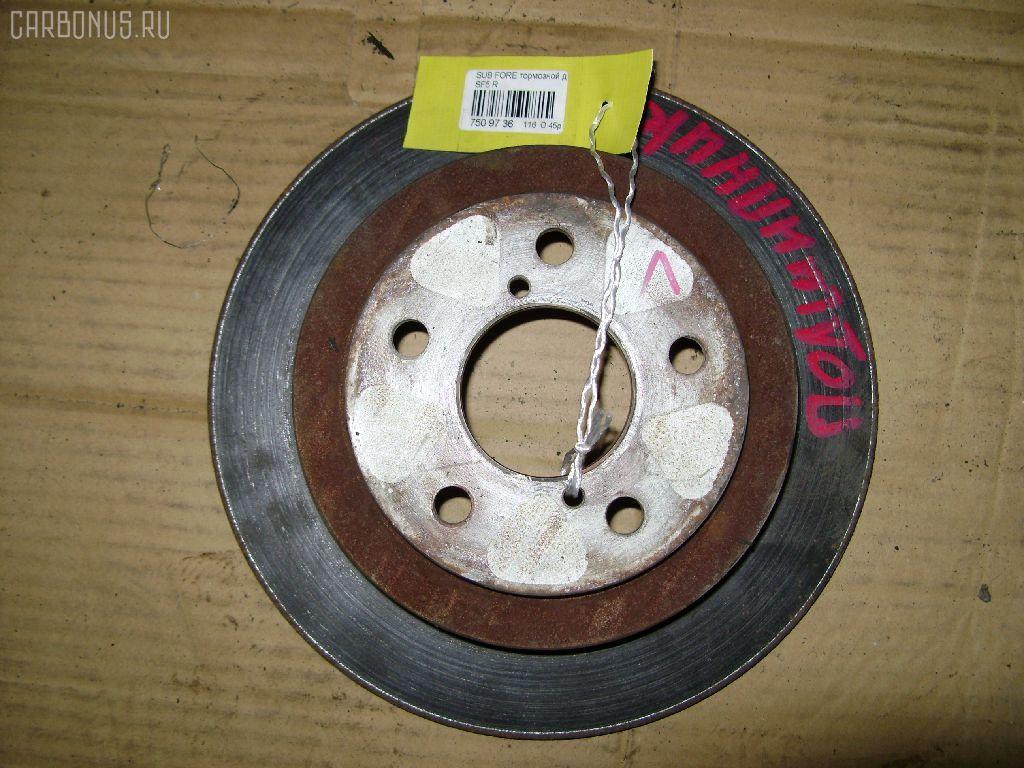 Тормозной диск SUBARU FORESTER SF5. Фото 4