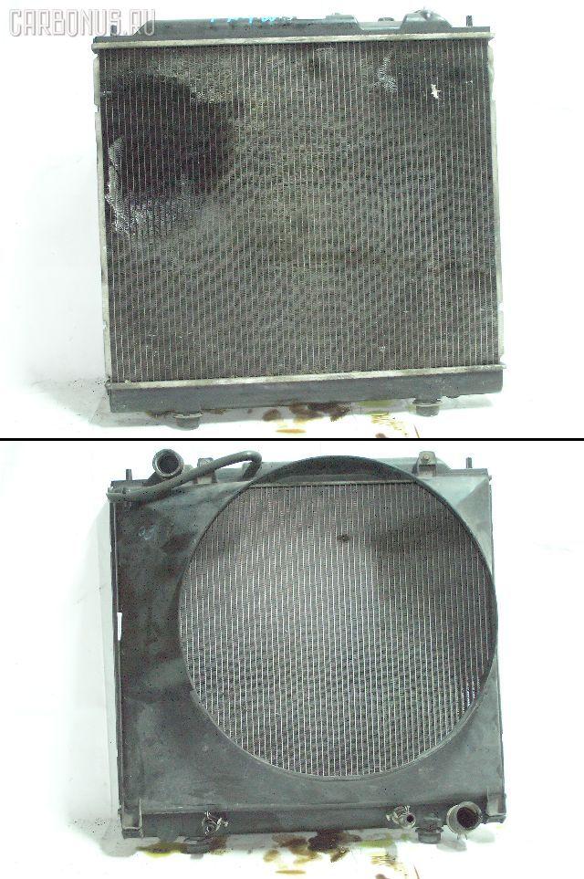 Радиатор ДВС MITSUBISHI DELICA SPACE GEAR PB4W 4G64. Фото 4