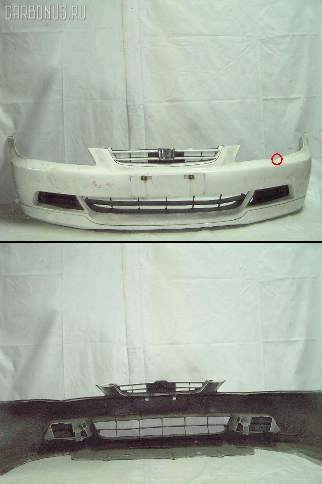 Бампер 71101-S0D-920Z* на Honda Accord Wagon CF6 Фото 1