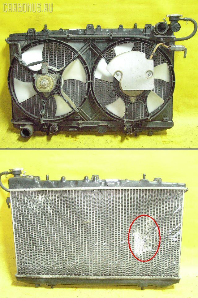 Радиатор ДВС NISSAN AVENIR W10 SR18DE. Фото 7