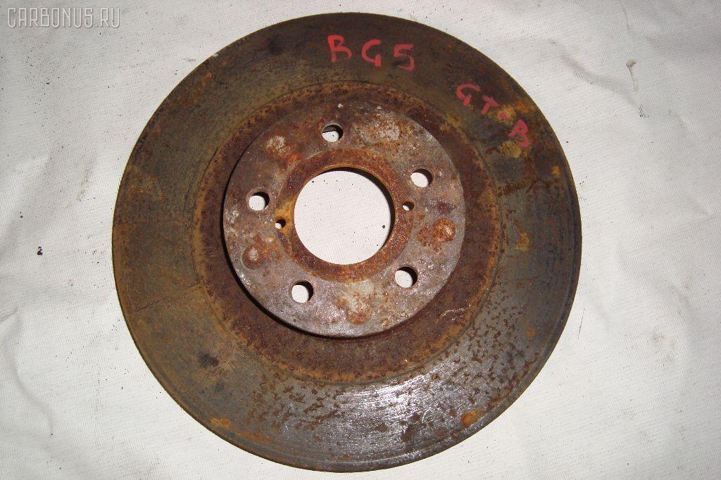 Тормозной диск SUBARU LEGACY WAGON BG5. Фото 8