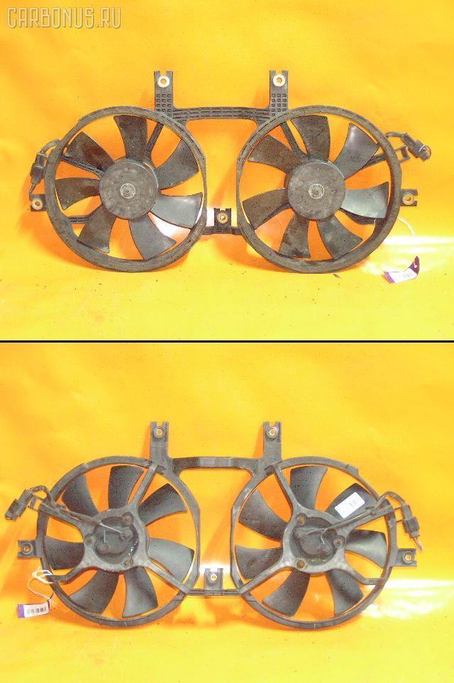 Вентилятор радиатора кондиционера MITSUBISHI DELICA SPACE GEAR PD6W 6G72. Фото 10