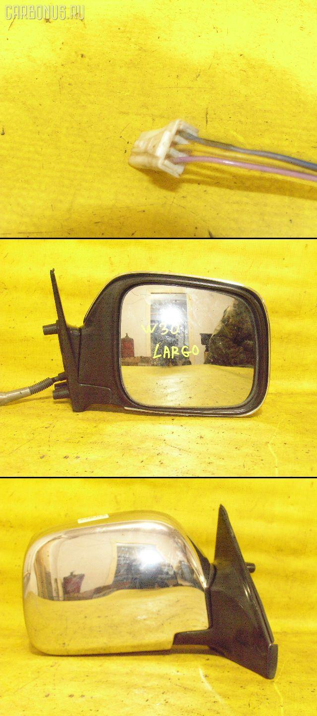 Зеркало двери боковой NISSAN LARGO W30. Фото 4