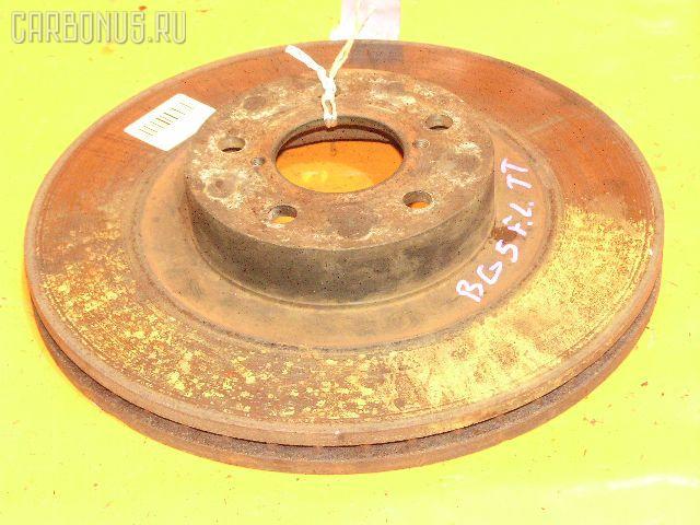 Тормозной диск SUBARU LEGACY WAGON BG5. Фото 10