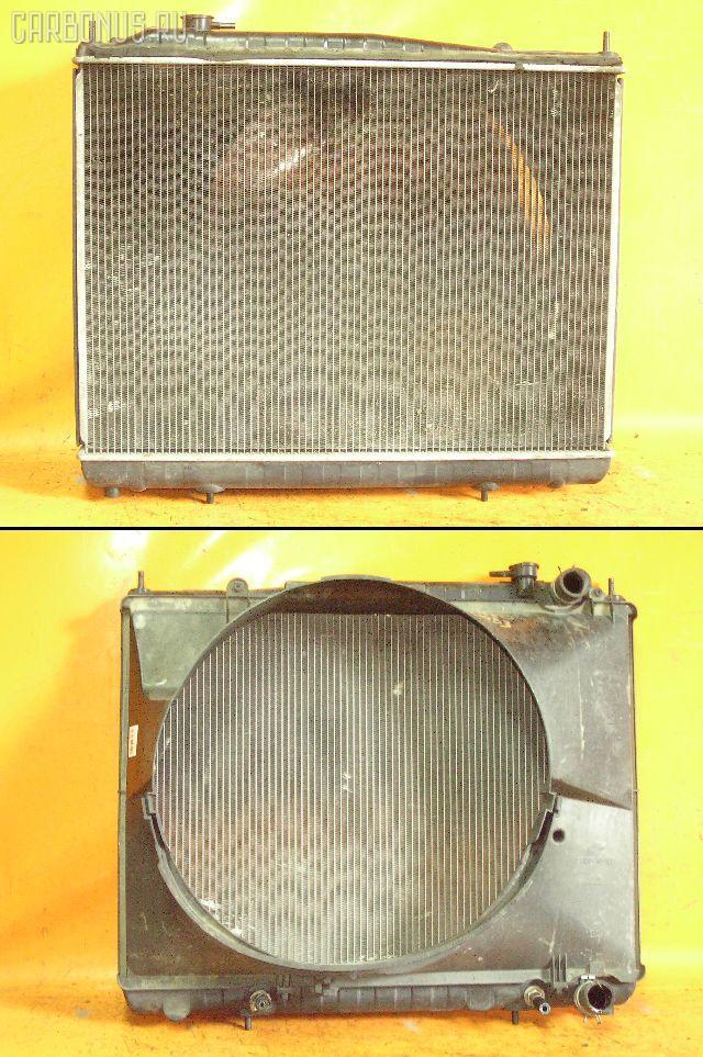 Радиатор ДВС NISSAN ELGRAND ALE50 VG33E. Фото 5