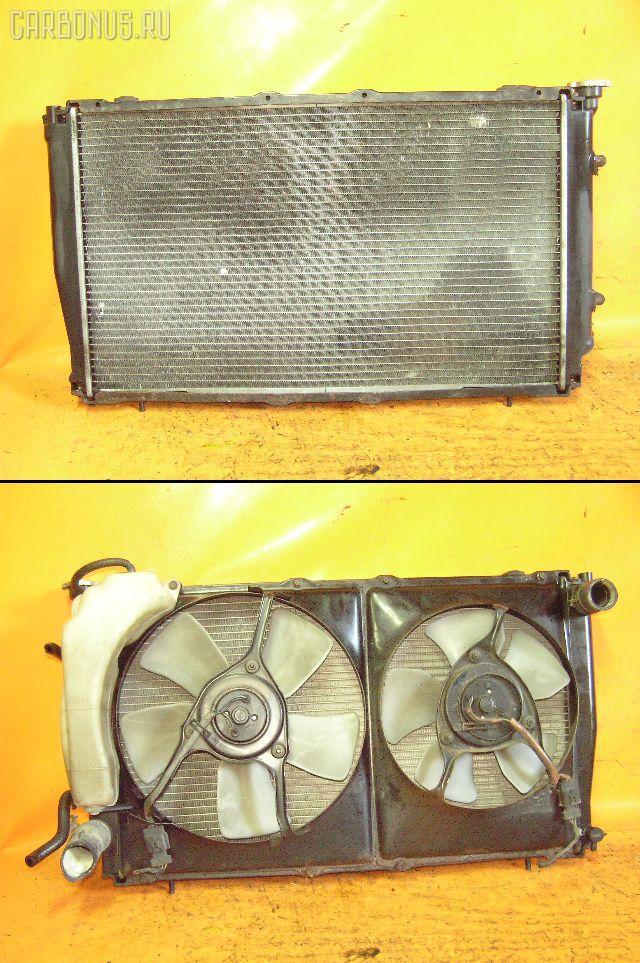 Радиатор ДВС SUBARU LEGACY GRAND WAGON BG9 EJ25. Фото 5