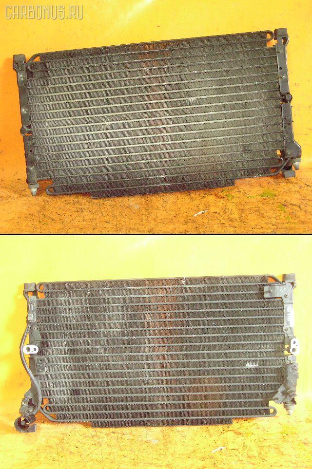 Радиатор кондиционера TOYOTA MARK II GX81 1G-FE. Фото 7