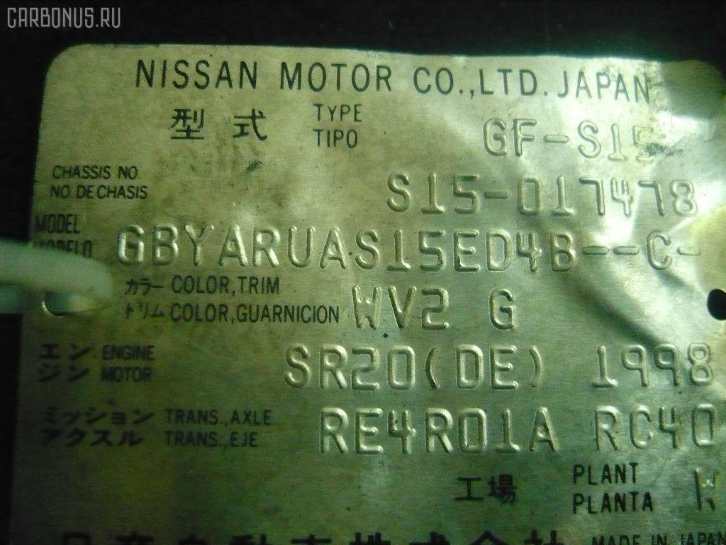 КПП автоматическая NISSAN SILVIA S15 SR20DE. Фото 6