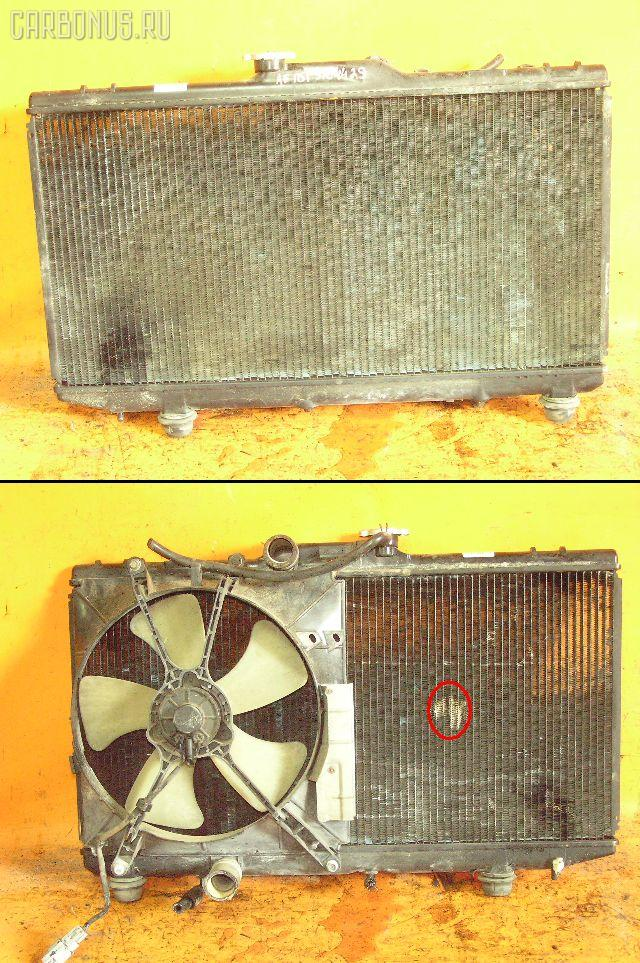 Радиатор ДВС TOYOTA COROLLA CERES AE101 4A-FE. Фото 3