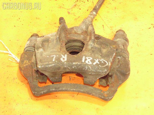 Суппорт TOYOTA MARK II GX81 1G-FE. Фото 5